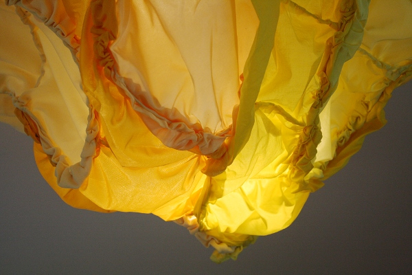 "Brooke Mullins Doherty, ""Yellow Billow 1"""