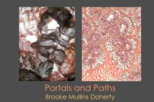 "Brooke Mullins Doherty ""Portals and Paths"" postcard"
