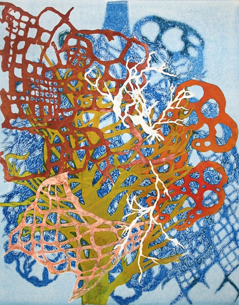"Brooke Mullins Doherty, ""Blue Lattice 2"""
