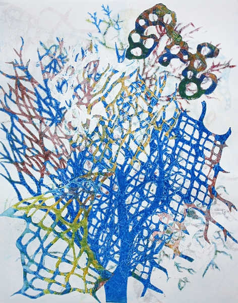 "Brooke Mullins Doherty, ""Blue Lattice 5"""
